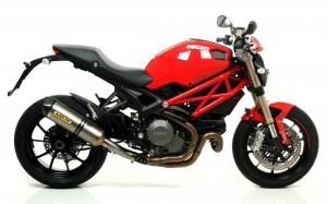 TERMINALE-ARROW MONSTER 1100 EVO-RACE TECH titanio